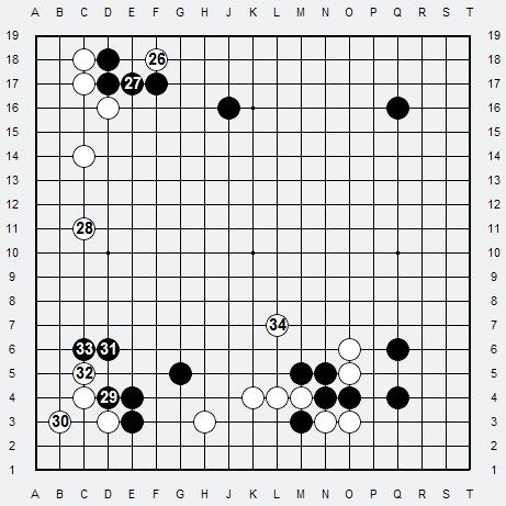 Les 3 Règles de base du Fuseki : Règle 1 3r-3-311