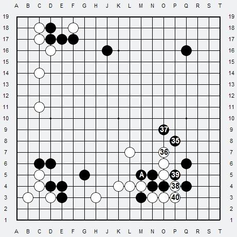 Les 3 Règles de base du Fuseki : Règle 1 3r-3-410