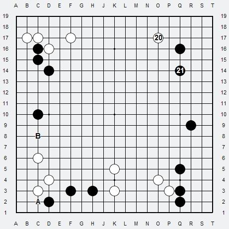 Les 3 Règles de base du Fuseki : Règle 1 3r-3a12