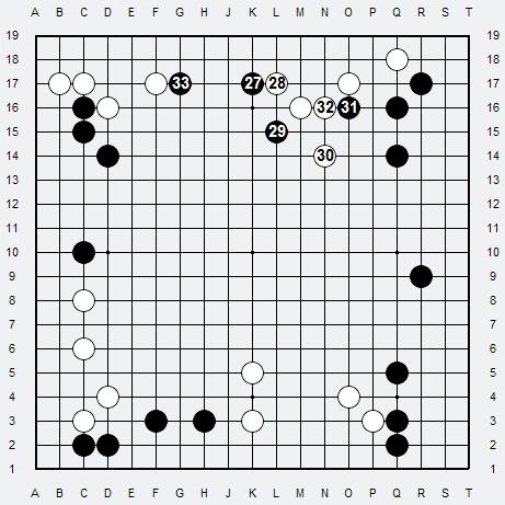 Les 3 Règles de base du Fuseki : Règle 1 3r-4b10