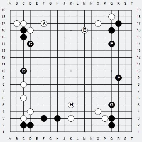 Les 3 Règles de base du Fuseki : Règle 2 3r2-2-10