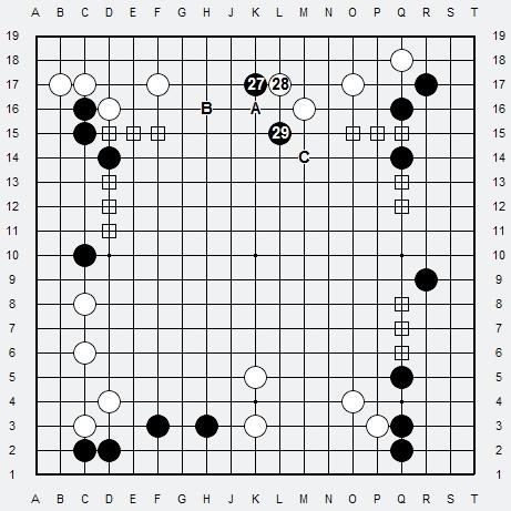 Les 3 Règles de base du Fuseki : Règle 2 3r2-2-12