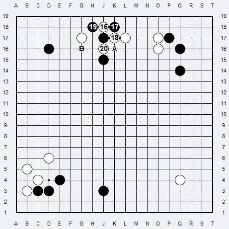 Les 3 Règles de base du Fuseki : Règle 2 3r2-2-19