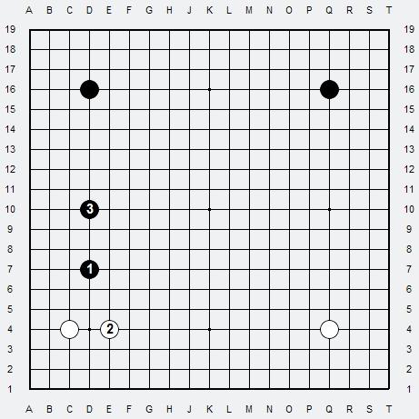 Les 3 Règles de base du Fuseki : Règle 2 3r2-2-23