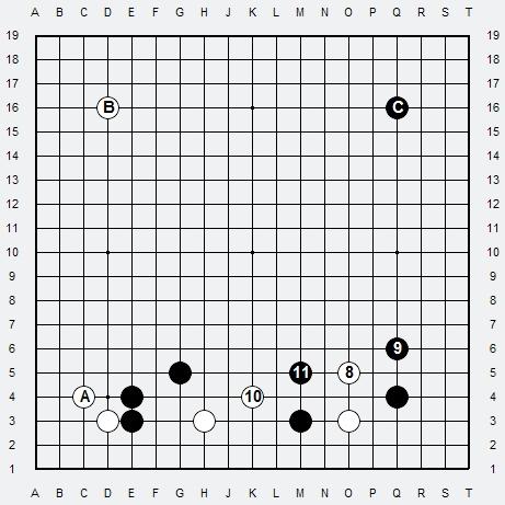Les 3 Règles de base du Fuseki : Règle 2 3r2-3-10