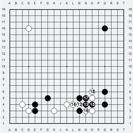 Les 3 Règles de base du Fuseki : Règle 2 3r2-3-14