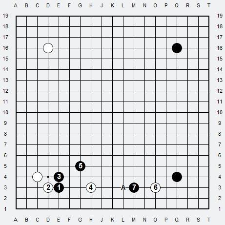 Les 3 Règles de base du Fuseki : Règle 2 3r2-3-18