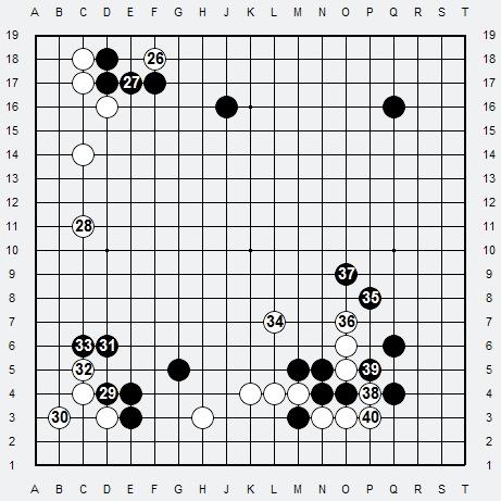 Les 3 Règles de base du Fuseki : Règle 2 3r2-3-19