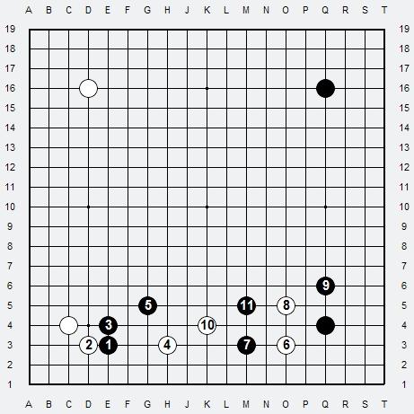 Les 3 Règles de base du Fuseki . Règle 3 3r3-1-13