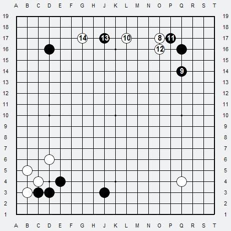 Les 3 Règles de base du Fuseki . Règle 3 3r3-2-14