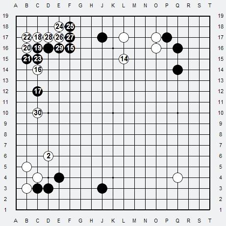 Les 3 Règles de base du Fuseki . Règle 3 3r3-2-15