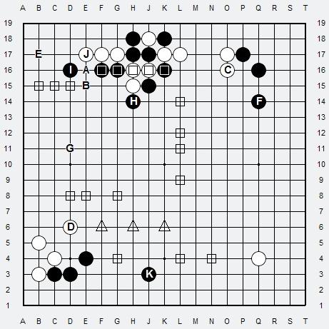 Les 3 Règles de base du Fuseki . Règle 3 3r3-2-19
