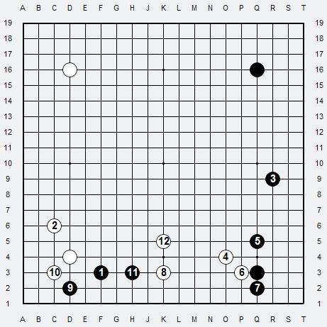 Les 3 Règles de base du Fuseki . Règle 3 3r3-3-10