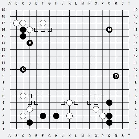 Les 3 Règles de base du Fuseki . Règle 3 3r3-3-13