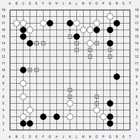 Les 3 Règles de base du Fuseki . Règle 3 3r3-3-16