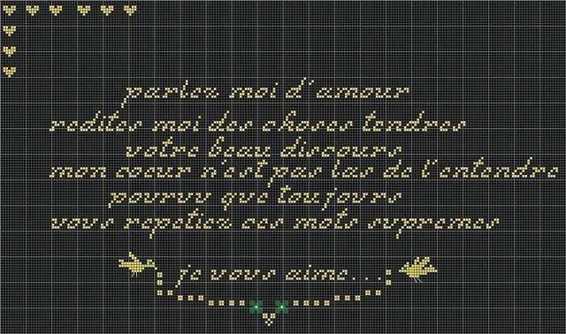 Parlez moi d'amour ...etc etc  Merci Isa Parlez11