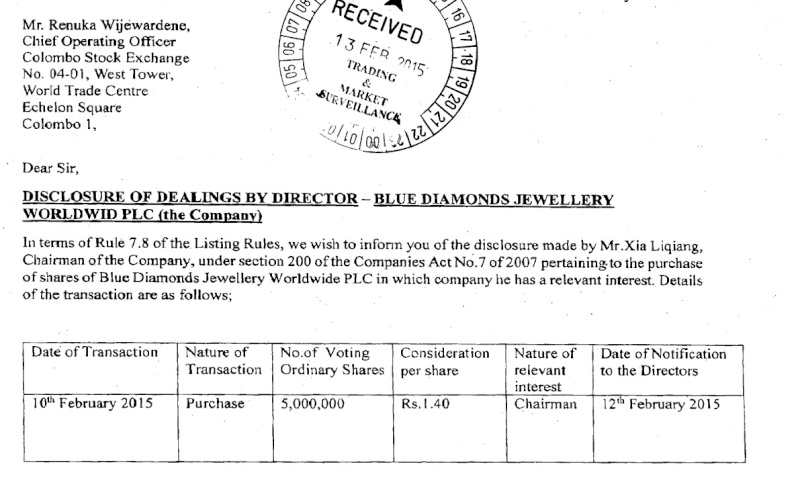 BLUE- 5 Million bought by Director Blue_n10
