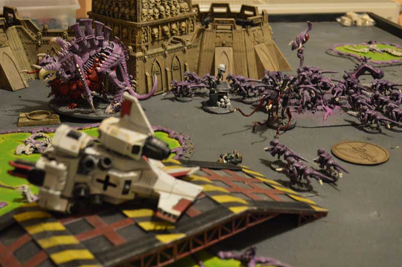 2014.12.29 - Blood Angels contre Tyranides - 2000 pts 1610
