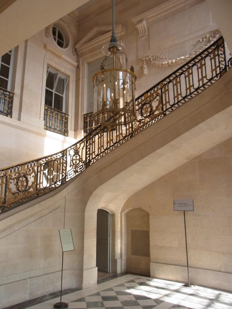 escalier - La visite du Petit Trianon: L'escalier d'Honneur Rimg0116