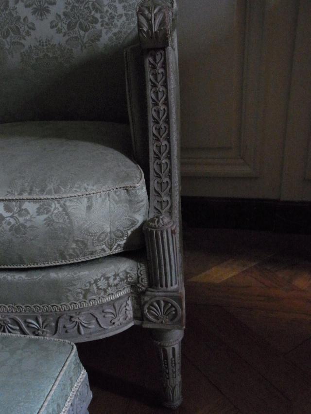 Chambre à coucher du Petit appartement de Marie-Antoinette, au rez-de-chaussée du château de Versailles Siyges12