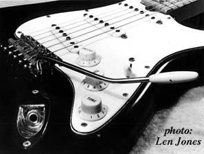 Ses guitares Blacks11