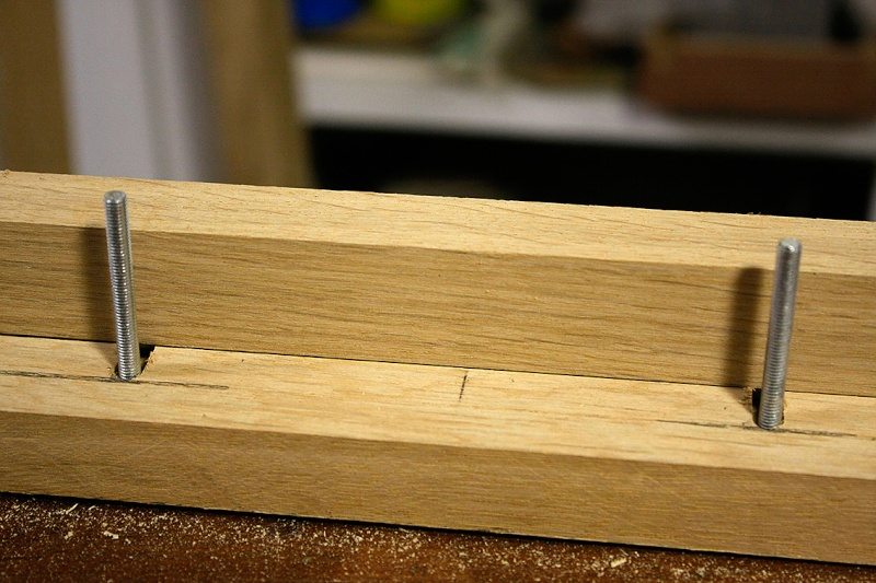 [Fabrication] Un cadre à serrage progressif… Boulon10