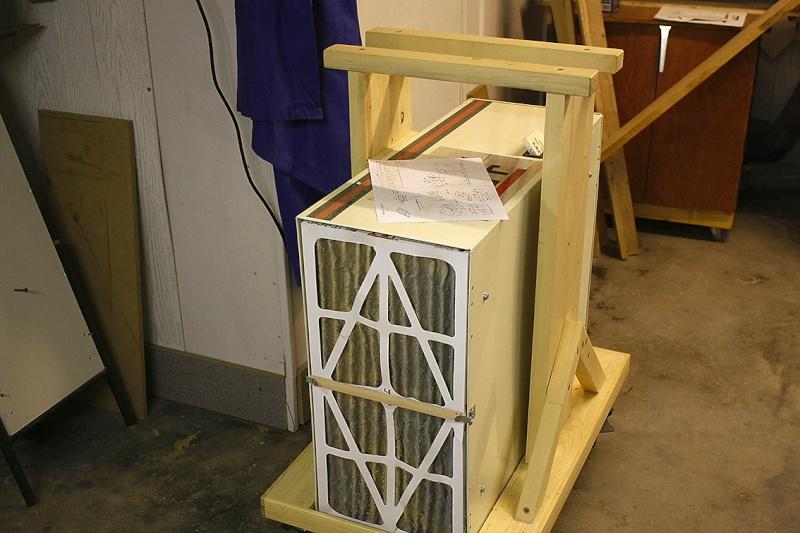 [Fabrication] Un cadre à serrage progressif… Filtre10