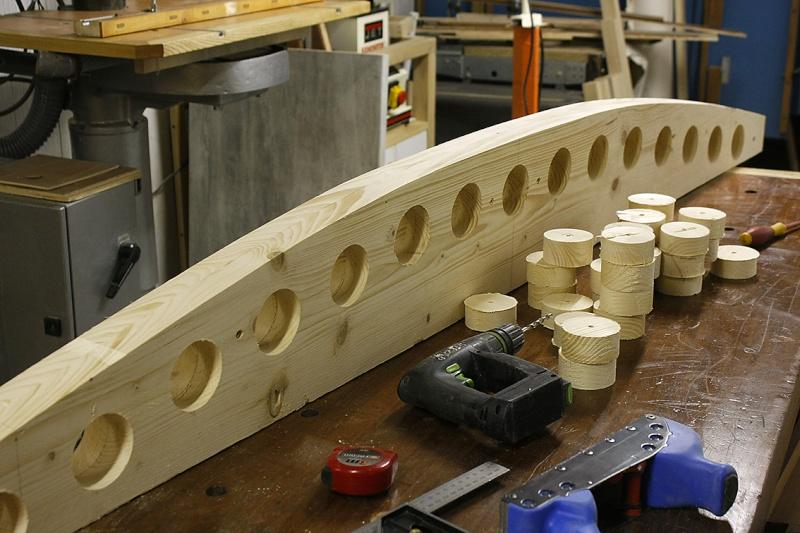 [fabrication] Un toit de roulotte de bohème - Page 4 Gabari16
