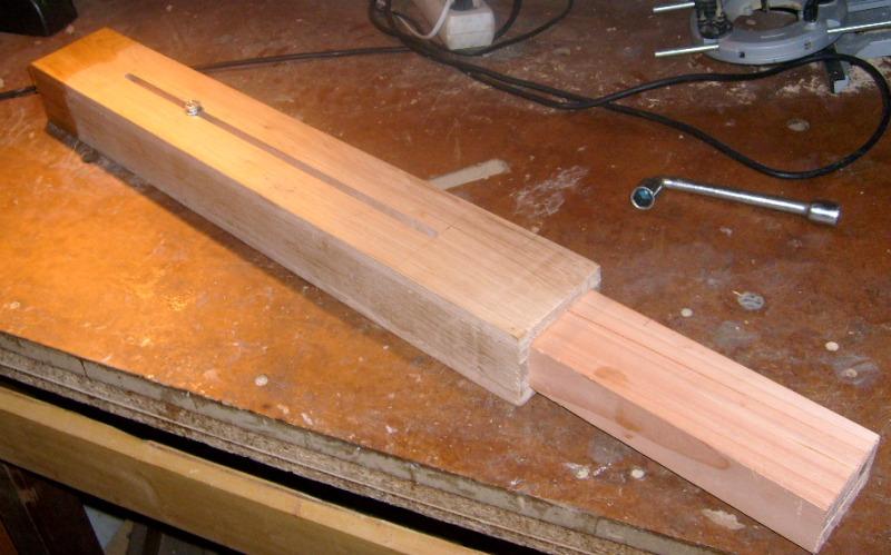Servante en bois à 4 rouleaux S6300812