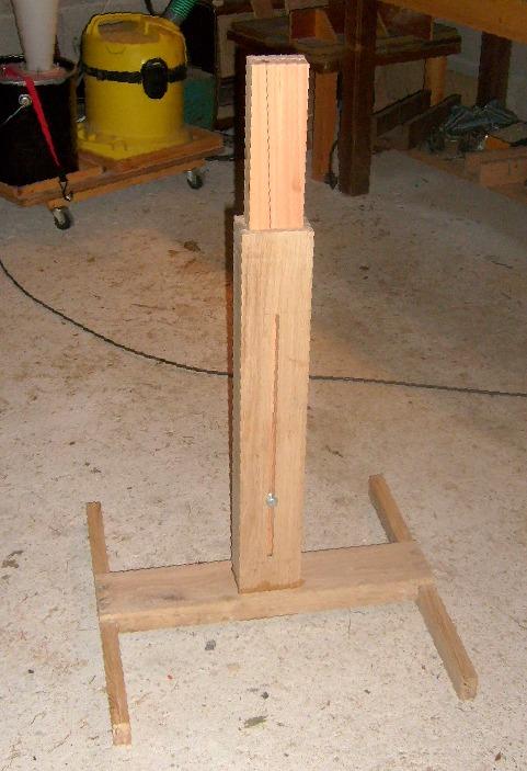 Servante en bois à 4 rouleaux S6300813