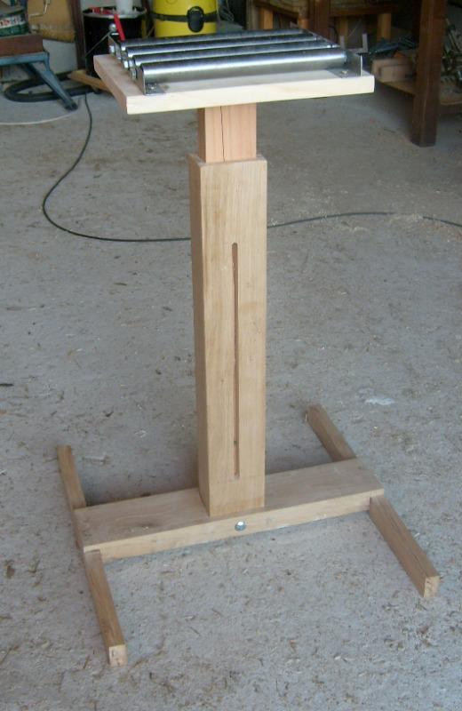 Servante en bois à 4 rouleaux S6300817
