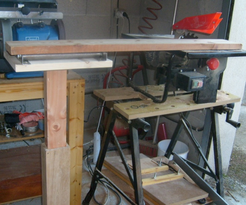Servante en bois à 4 rouleaux S6300820