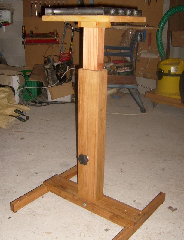 Servante en bois à 4 rouleaux S6300834