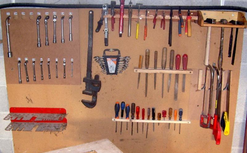 Supports d'outils pour rangement sur tableau S6300840