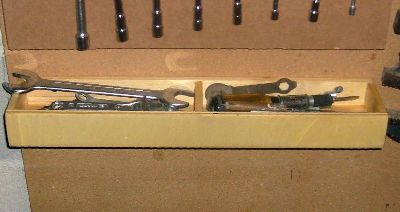 Supports d'outils pour rangement sur tableau S6300841