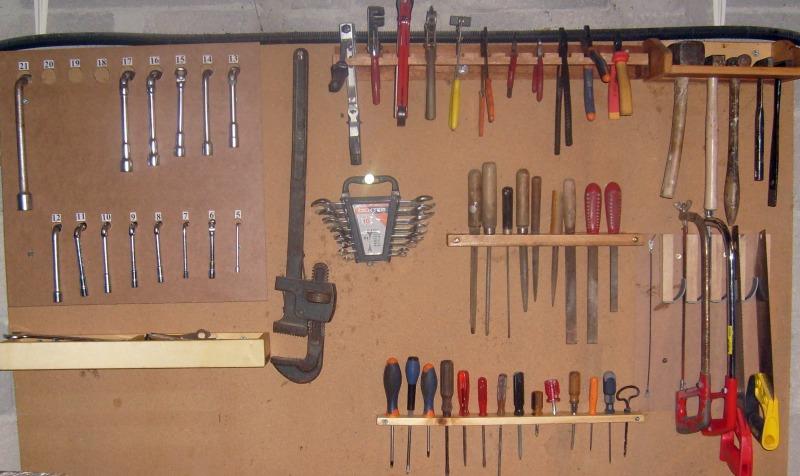 Supports d'outils pour rangement sur tableau S6300842
