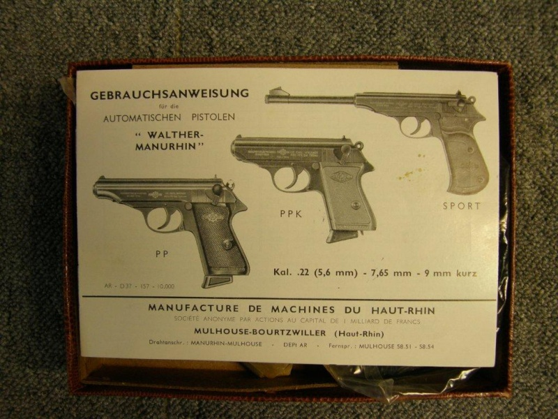 Manurhin PP en 7,65 Browning P9111910
