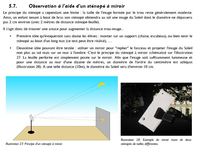 Comment Fabriquer un Solarscope de taille honorable ? Projec10