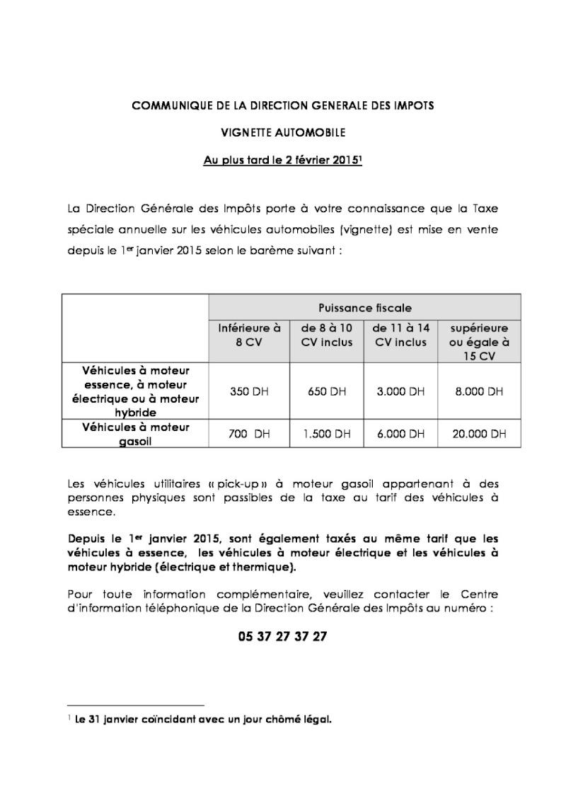 Vignette auto 2015 : tarifs et date limite de paiement 14664910