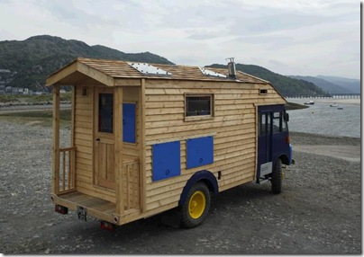 Recycled Eco Homes Wooden12