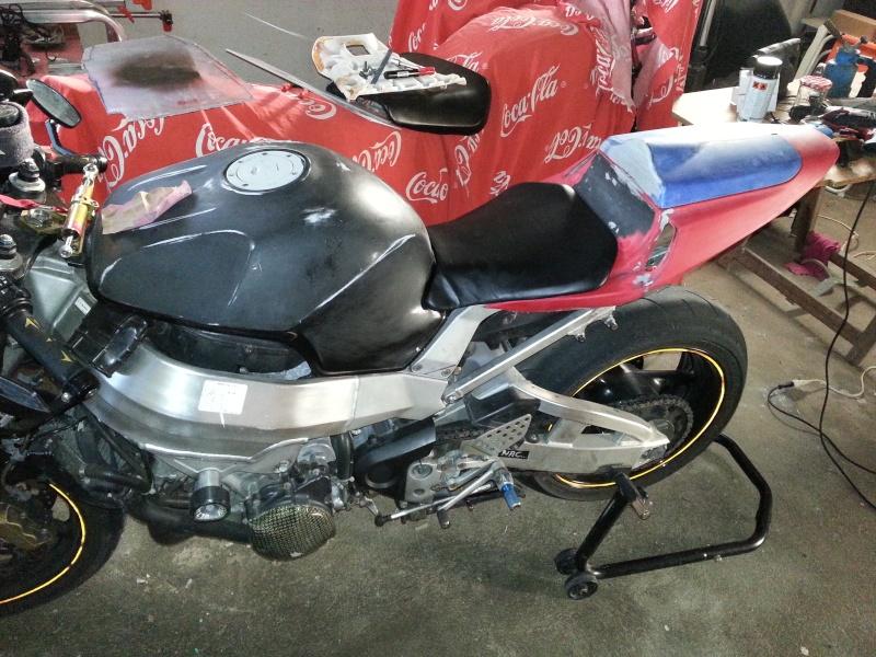 Voici la moto du petit dernier. 20150110