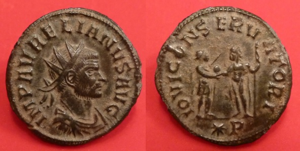 Antoninien d'Aurélien Aureli10