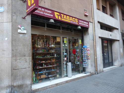 La civette El Llumi d'Or à Barcelone P1180711