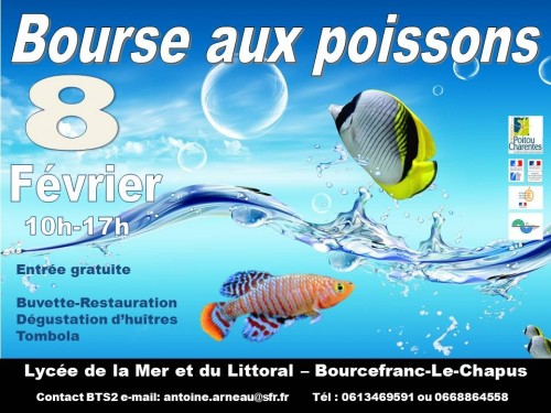 Bourse aux poissons à Bourcefranc en Février Affich10