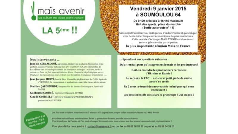 Réunion Maïs Avenir  Maysav14