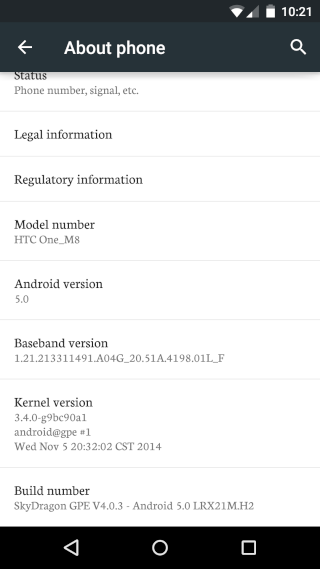 [HTC ONE  M7][ROM Lollipop][ANDROID 5.0.1]SkyDragon | Google Play Edition v6.0.0  [OM7] 211