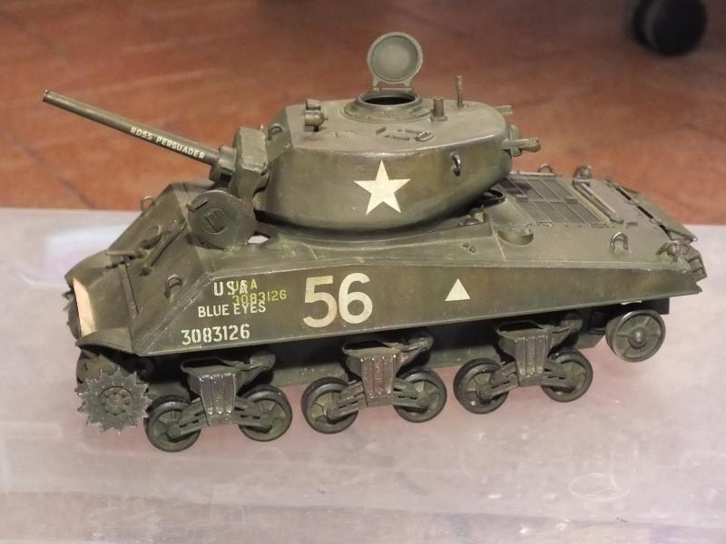 Sherman A3E2  Tamiya 1/35 et canon alu Rb models.  (Patine en cours) - Page 3 Dscf7631