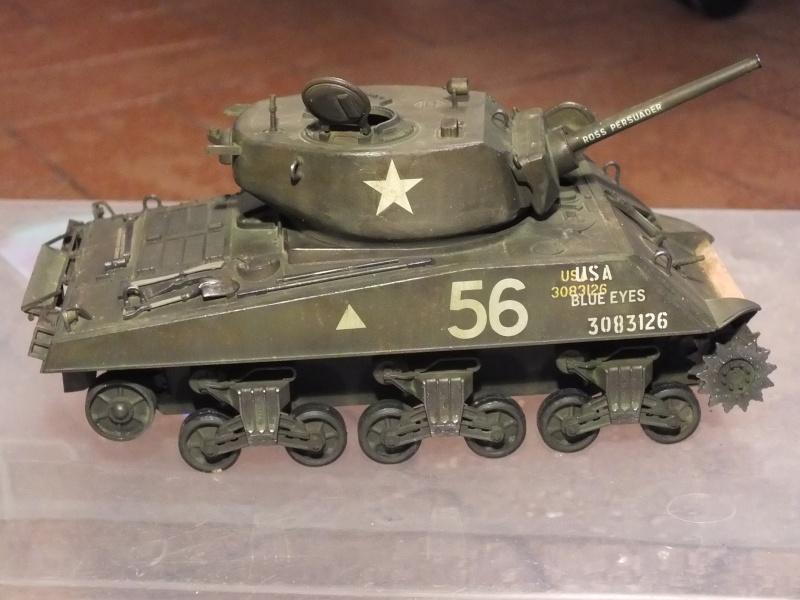 Sherman A3E2  Tamiya 1/35 et canon alu Rb models.  (Patine en cours) - Page 3 Dscf7632