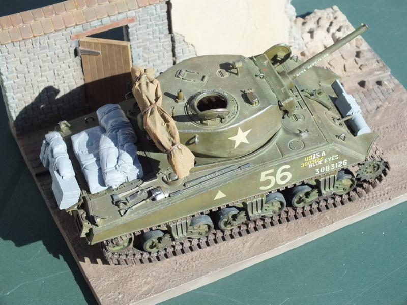 Sherman A3E2  Tamiya 1/35 et canon alu Rb models.  (Patine en cours) - Page 4 Dscf7644