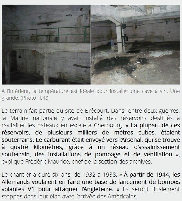 LE SITE DE BRECOURT A EQUEURDREVILLE (50) Ab413